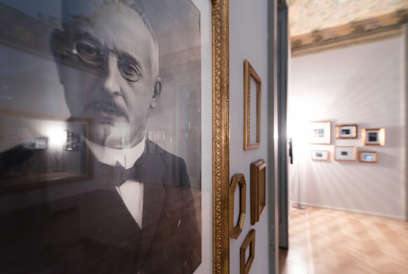 Cernobbio allestimento museo Villa Bernasconi