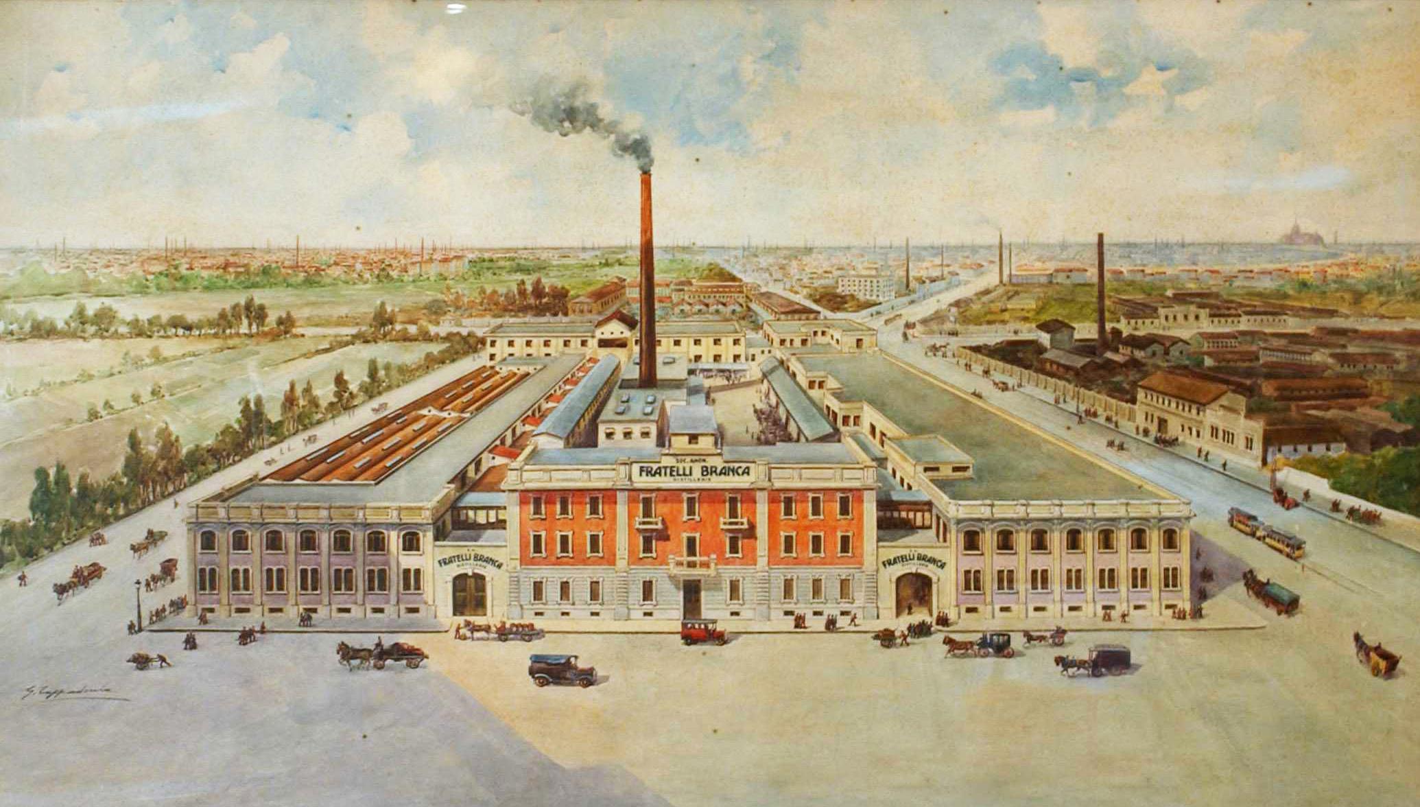 Il Museo Distillerie Branca