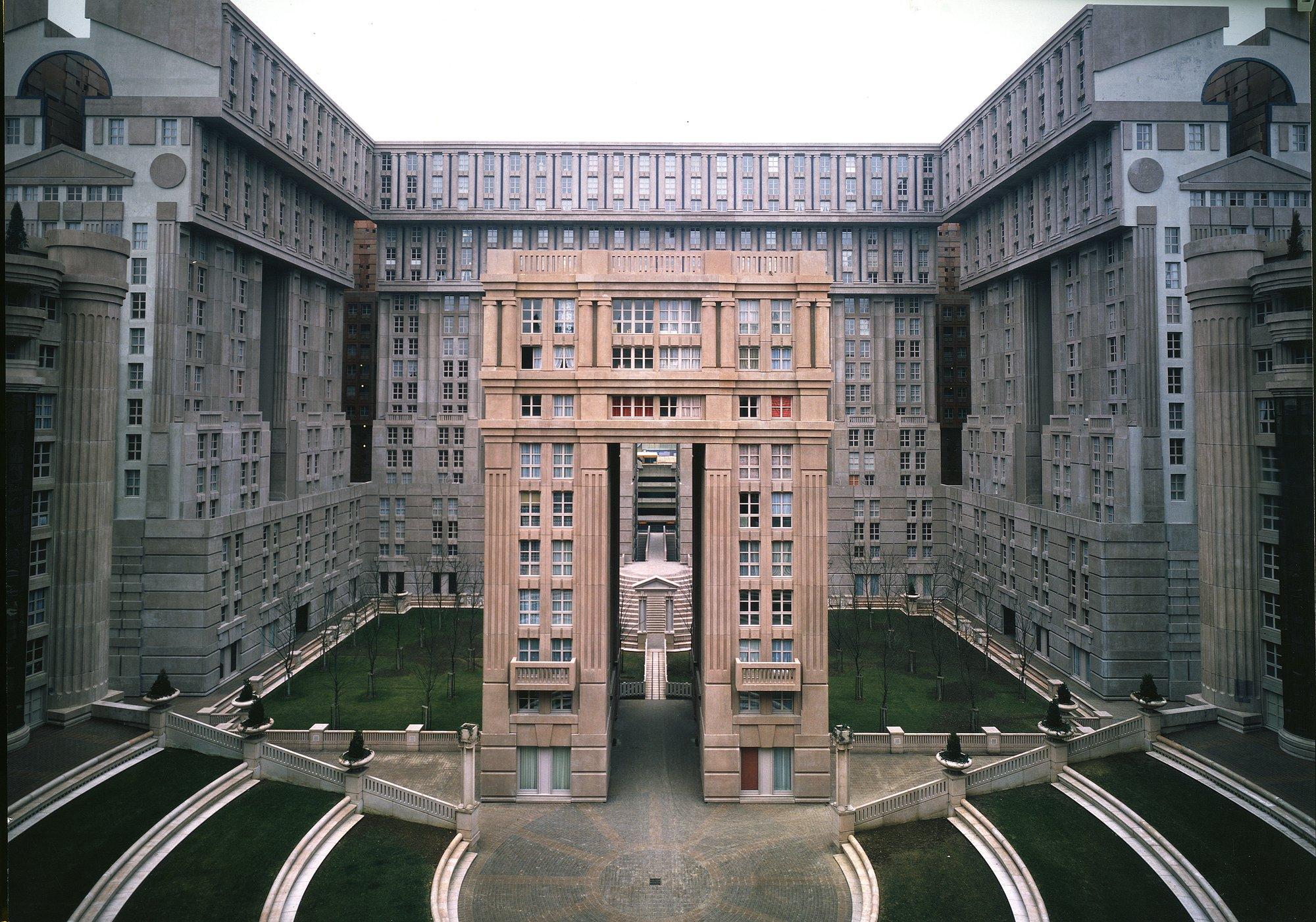fatti di storie_architettura_Les espaces d'Abraxas_Bofill
